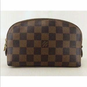 Authentic Louis Vuitton Damier Cosmetic Pouch Bag